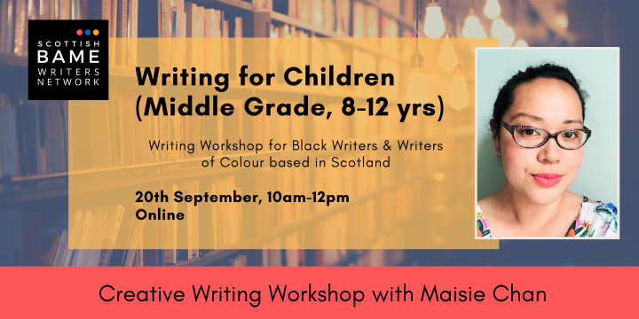 Workshop: Writing for Children (Middle Grade) with Maisie Chan