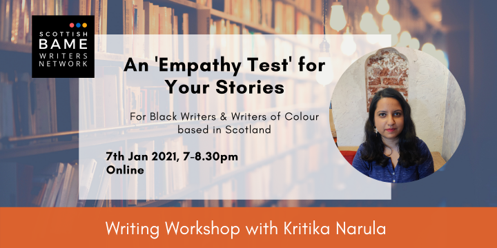 Writing Workshop: An 'Empathy Test' for Your Stories with Kritika Narula