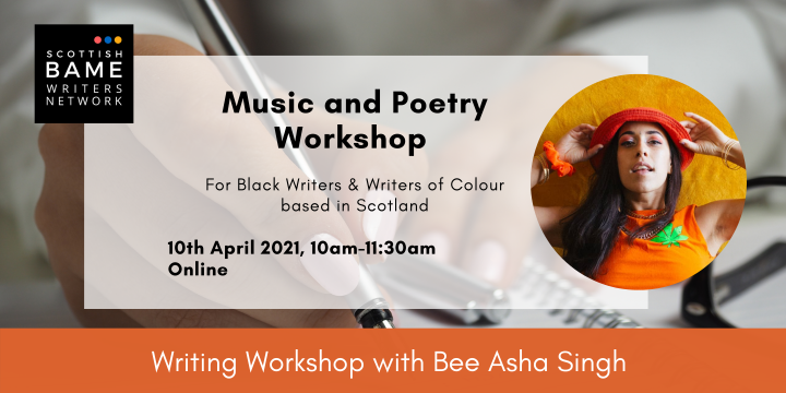 Music and Poetry Workshop with Bee Asha Singh