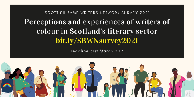Perceptions and Experiences of Writers of Colour in Scotland's Literary Sector – 2021 survey