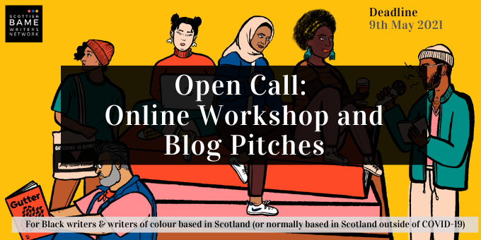 Open Call for Online Workshop and Blog pitches!