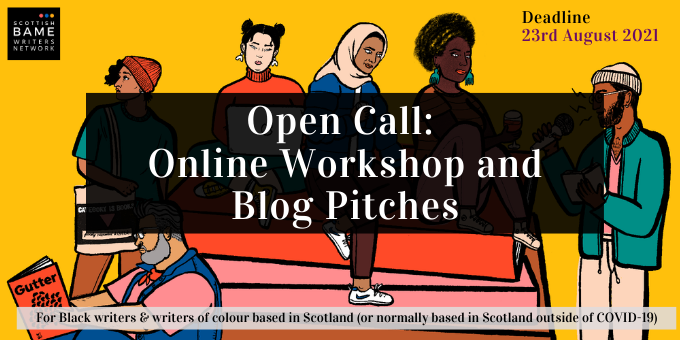 Open Call for Online Workshop and Blog Pitches! – for October-December 2021