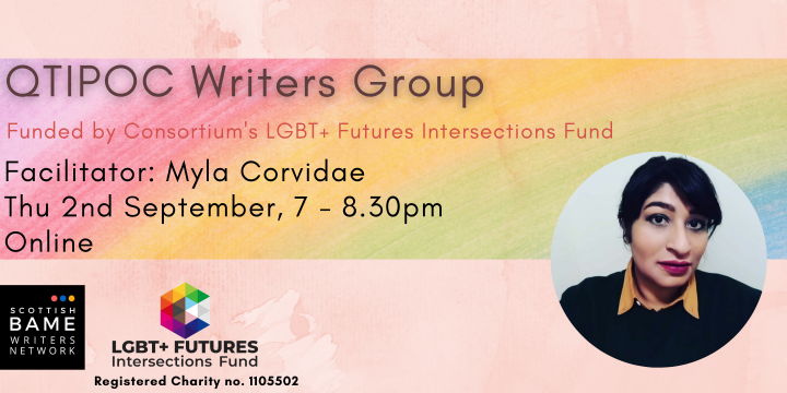 QTIPOC Writers Group – 2nd September 2021