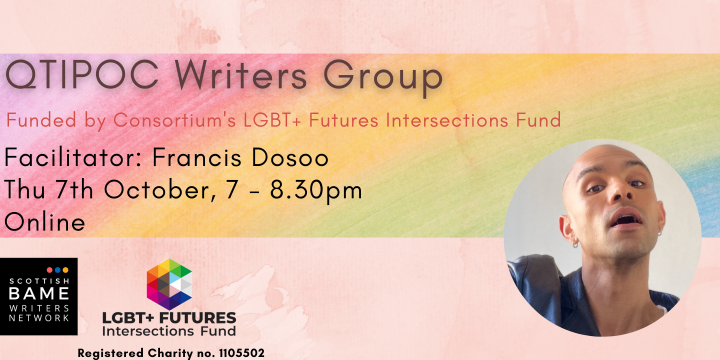 QTIPOC Writers Group – 7th October 2021